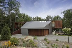 Berkshire Pond House by David Jay Weiner Architects