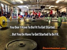 The key to getting in shape = Getting started