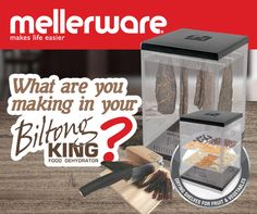 The Rugby World Cup is nearly here! What are YOU making in your Mellerware Biltong King? Send us your Biltong King recipe and stand a chance to win one of two biltong makers! Winners will be announced on Wednesday 23 September 2015.  Click on our link below to enter: https://www.facebook.com/Mellerware