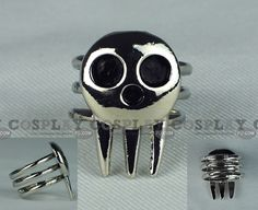 Death the Kid Ring from Soul Eater