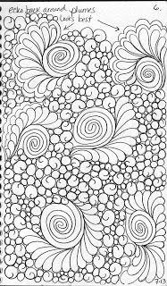 LuAnn Kessi: Quilting Sketch Book.....Background Fillers