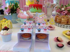 Decoração de festa infantil - Cupcake