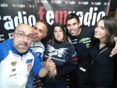 Con el piloto de elite Joan Pau Segura