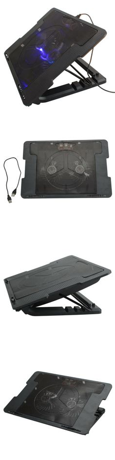 Laptop Cooling Pads 96915: Usb 9 -17 Laptop 2 Fan Led Light Cooling Cooler Adjustable Anti-Slip Stand Pad -> BUY IT NOW ONLY: $10.5 on #eBay #laptop #cooling #light #cooler #adjustable #stand Thermal Heat, Laptop Cooling Pad, 17 Laptop, Cool Stuff, Stuff To Buy, Usb, Ebay, Things To Sell