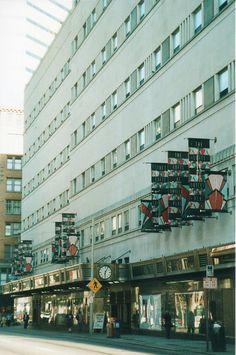 Shillito's, former department store in downtown Cincinnati, Oh. Now a condo.