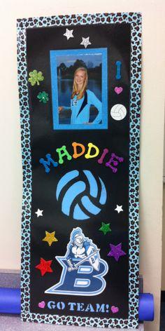 Volleyball Locker posters for the Junior Varsity