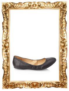 Faux Leather Ballet Flats - $17.80
