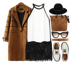 """""""Hey Paper Works"""" by jiabao-krohn ❤ liked on Polyvore featuring Alice + Olivia, MANGO, Lanvin, Dr. Martens, E L L E R Y, Orciani, women's clothing, women's fashion, women and female"""
