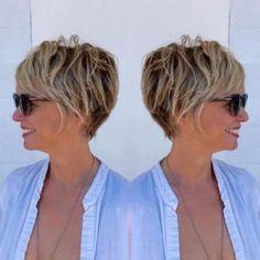 Les 45 meilleures images de Coiffure cheveux courts 50 ans en 2020   Coiffure cheveux courts 50 ...