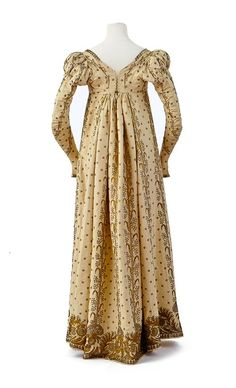 Fripperies and Fobs. ( 6/7) Court dress and train owned by Empress Josephine, First Empire