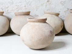 Handmade from terracotta earthenware, these unique pots make beautiful indoor or outdoor decor. You can use them as plant holders or simply as display pieces. Ideal Home Magazine, House And Home Magazine, Mens Kitchen, Money Jars, Large Homes, Ceramic Clay, Architectural Salvage, Clay Pots, Furniture Sale