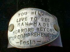 You will live to see man made horrors beyond your comprehension | Anonymous ART of Revolution