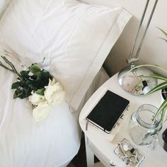 pretty bedroom styling