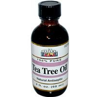 100% Pure. Tea tree oil is a natural antibacterial disinfectant. An excellent natural remedy for hundreds of bacterial and fungal skin ailments such as acne, abscess, oily skin, blisters, sun burns, athlete's foot, warts, herpes, insect bites, rashes, dandruff and other minor wounds and irritations.