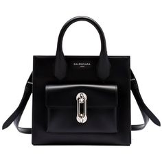 Balenciaga Maillon Mini All Afternoon ($1,635) ❤ liked on Polyvore featuring bags, handbags, black, black bag, balenciaga bag, balenciaga handbags, miniature purse и mini bag