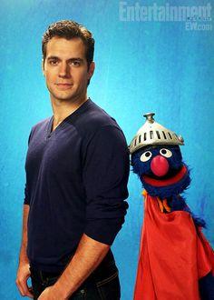 Henry Cavill & Super Grover