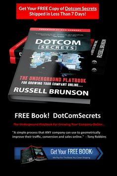 DotComSecrets will give you the marketing funnels and the sales scripts you need to be able to turn on a flood of new leads into your business. The Marketing, Online Marketing, The Secret Book, Usa Today, Growing Your Business, Free Books, Make It Simple, Online Business, You Got This