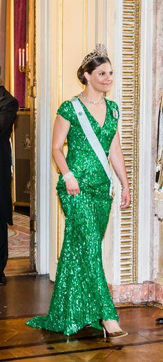 Crownprincess Victoria  Designer: Elie Saab