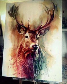 Powerful Animal Paintings by Ben Jeffery