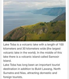 Lake Toba-North Sumatra Indonesia.