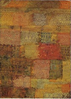Paul Klee, Florentine Villas, 1936 on ArtStack #paul-klee #art