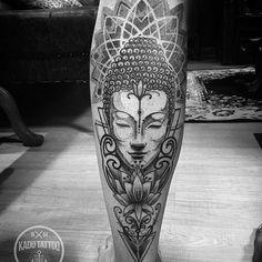 Tatuagem feita por @kadutattoo
