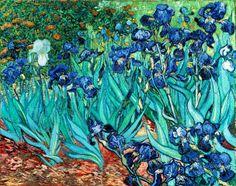 Vincent van Gogh - Iris (Schwertlilien) x cm) Vincent Van Gogh, Art Van, Claude Monet, Dutch Artists, Great Artists, Rembrandt, Painting Frames, Painting Prints, Iris Painting