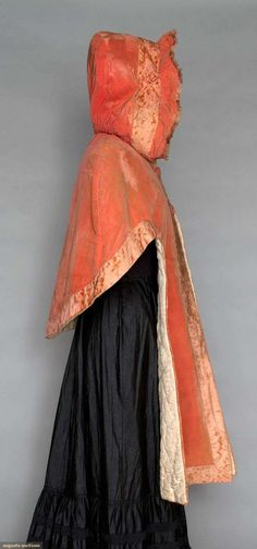 i love historical clothing: cariage cape 1780