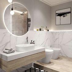 Small Bathroom Sinks, Master Bathroom, Bathroom Ideas, Spanish Style Bathrooms, Villa, Dream Bath, Deco Boheme, Scandinavian Bathroom, Beautiful Interior Design