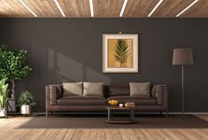 Basement Paint Colors, Paint Colors For Home, Black Fox Sherwin Williams, Brown Paint Colors, White Granite Countertops, William Black, Black Walls, Room Paint, Living Spaces