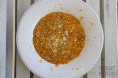 Risotto de calabaza y naranja