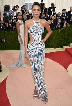 Best (& Worst) Dressed on the 2016 Met Gala Red Carpet | Kendall Jenner in Versace