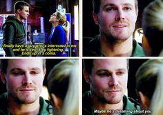 Arrow - Felicity & Oliver #2.10 #Season2 #Olicity