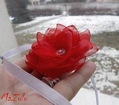 MaZulu / svadobný náramok v červenom