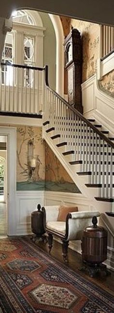 A photo edited with PicMonkey House Entrance, Entrance Hall, Lobby Bar, Horse Farms, Stairs, Design, Home Decor, Stairway, Homemade Home Decor