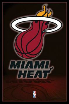 NBA Miami Heat Logo - plakat