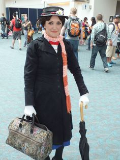 Best representation descriptions: Cosplay Mary Poppins Costume Related searches: Easy Comic-Con Costume Ideas,Pop Art Comic Book Costume,Co. Epic Cosplay, Disney Cosplay, Amazing Cosplay, Cosplay Outfits, Cosplay Costumes, Cosplay Ideas, Hipster Girl Outfits, Hipster Girls, Popular Costumes