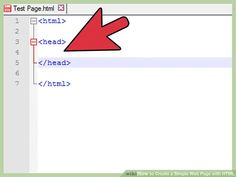 How to Create a Simple Web Page with HTML. This wikiHow teaches you how to write a simple web page with HTML (hypertext markup language). HTML is one of the core components of the World Wide Web, making up the structure of web pages. Web Business, Image Title, Create Yourself, Language, Letters, Teaching, Writing, Simple, Languages