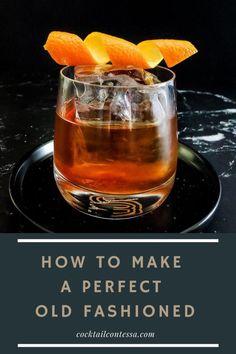 Whiskey Recipes, Bourbon Cocktails, Alcohol Drink Recipes, Classic Cocktails, Fun Cocktails, Cocktail Drinks, Cocktail Recipes, Fun Drinks, Holiday Drinks