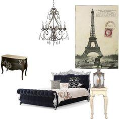 paris bedroom,