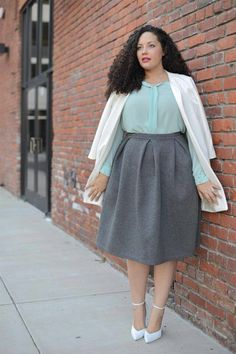 Top Ten Beautiful and Famous Plus Size Models - Plus Size Fashion Trends Curvy Girl Fashion, Modest Fashion, Plus Size Fashion, Plus Size Inspiration, Mode Inspiration, Looks Plus Size, Plus Size Model, Mode Outfits, Fashion Outfits