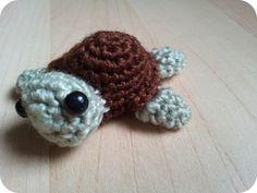 Amigurumi: cómo hacer una tortuguita.