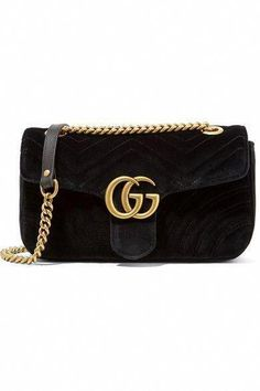 7e5600601789 GUCCI Gg Marmont Small Velvet Shoulder Bag.  gucci  bags  shoulder bags