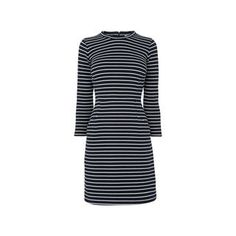 Dawn Stripe Jersey Dress, in Multicolour on Whistles
