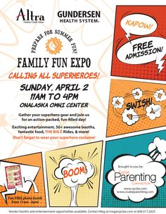Family Fun Expo 2017 is going to be SUPER!