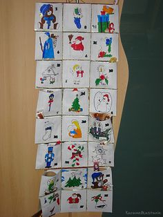 DIY Advent Calendar Paper CD Cases