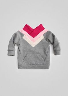 Sewing For Kids Clothes Origami Sweater PDF Sewing Pattern Sewing Patterns For Kids, Sewing Projects For Beginners, Sewing For Kids, Sewing Tutorials, Sewing Ideas, Clothes Patterns, Sewing Crafts, Sewing Magazines, Fabric Purses