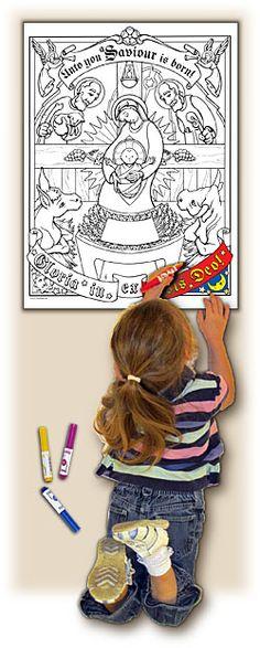 Illuminated Ink has awesome artsy crafty products for Catholics! Christmas Gift Guide, Christmas Crafts For Kids, Kid Crafts, Merry Christmas, Cyber Monday Specials, Liturgical Seasons, Catholic Kids, Educational Crafts, O Holy Night