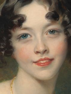 Lady Maria Conyngham (detail) / Sir Thomas Lawrence / Oil on canvas, ca. 1824-25 / The Metropolitan Museum of Art