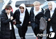 [Picture/Media] BTS Going to 2017 ISAC [170116]